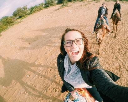 Gopro Selfie on a camel :)