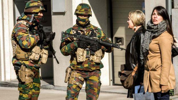 belgium army
